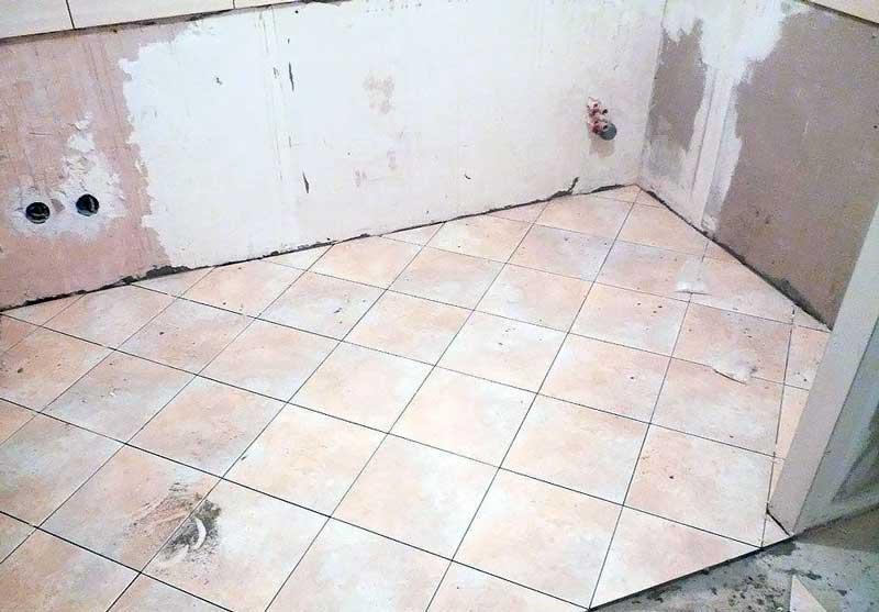Укладка плитки, основные требования